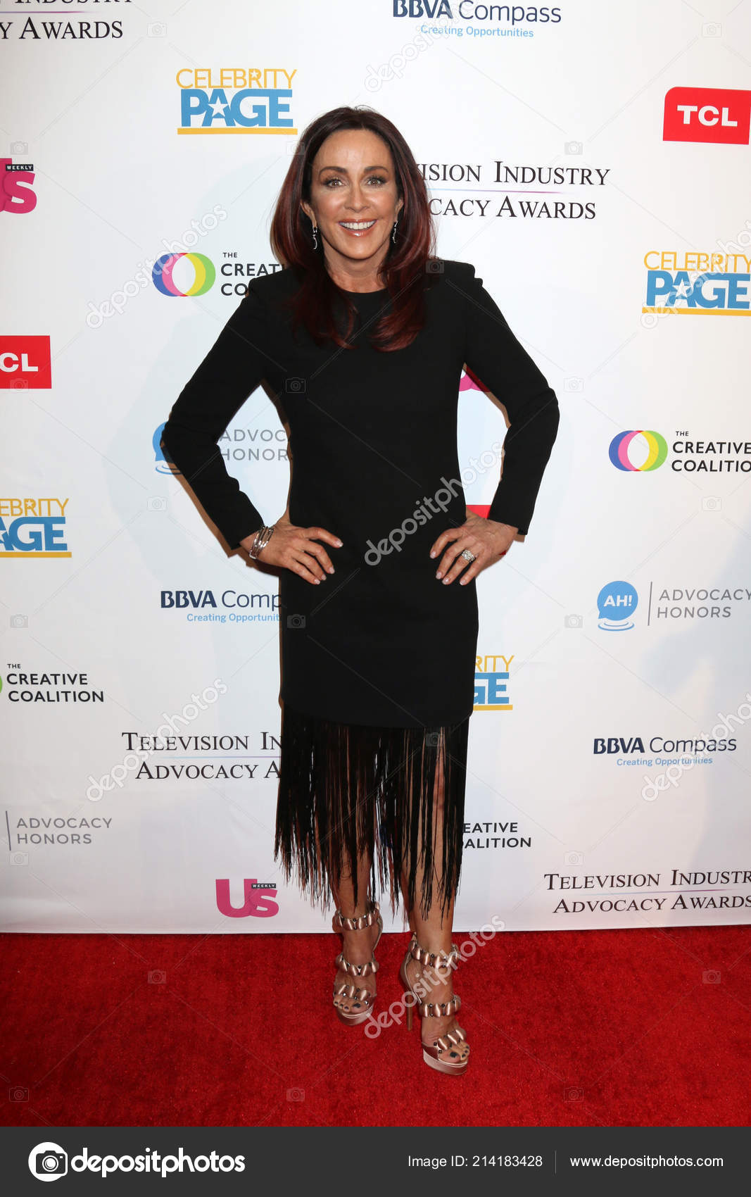 b873cf08d49 LOS ANGELES - SEP 15: Patricia Heaton at the 2018 Television Industry  Advocacy Awards at the Sofitel Los Angeles on September 15, 2018 in Beverly  Hills, ...