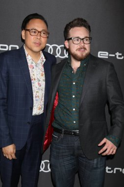 LOS ANGELES - SEP 13:  Nico Santos, Zeke Smith at the Audi Pre-Emmy Party at the La Peer Hotel on September 13, 2018 in West Hollywood, CA