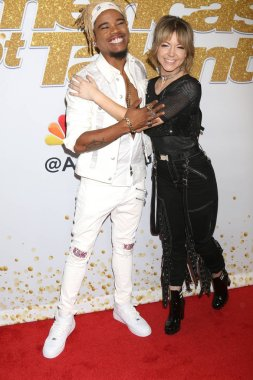LOS ANGELES - SEP 18:  Brian King Joseph, Lindsey Stirling at the