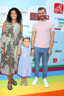 LOS ANGELES - SEP 22:  Marsha Thomason, Tallulah Anai?s Sykes, Craig Sykes at the 7th Annual Celebrity Red CARpet Event at the Sony Studio on September 22, 2018 in Culver City, CA
