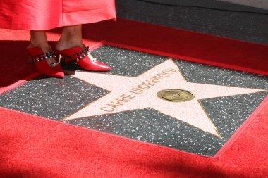 LOS ANGELES - SEP 20:  Carrie Underwood feet on WOF Star at the Carrie Underwood Star Ceremony on the Hollywood Walk of Fame on September 20, 2018 in Los Angeles, CA