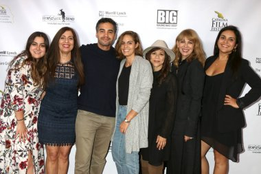 LOS ANGELES - SEP 26:  Noelle Suarez, Anahid Ishahrik, Ramon Rodriguez, Karina Silva, Rosie Perez, Ileana Angelo, Natalie Gomez at the Catalina Film Festival - Opening Night at the Art Theater on September 26, 2018 in Long Beach, CA
