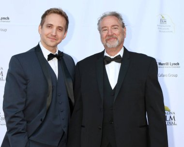 AVALON - SEP 29:  Rob Herring, Michael Smith at the Catalina Film Festival - Saturday Red Carpet at the Casino on September 29, 2018 in Avalon, CA