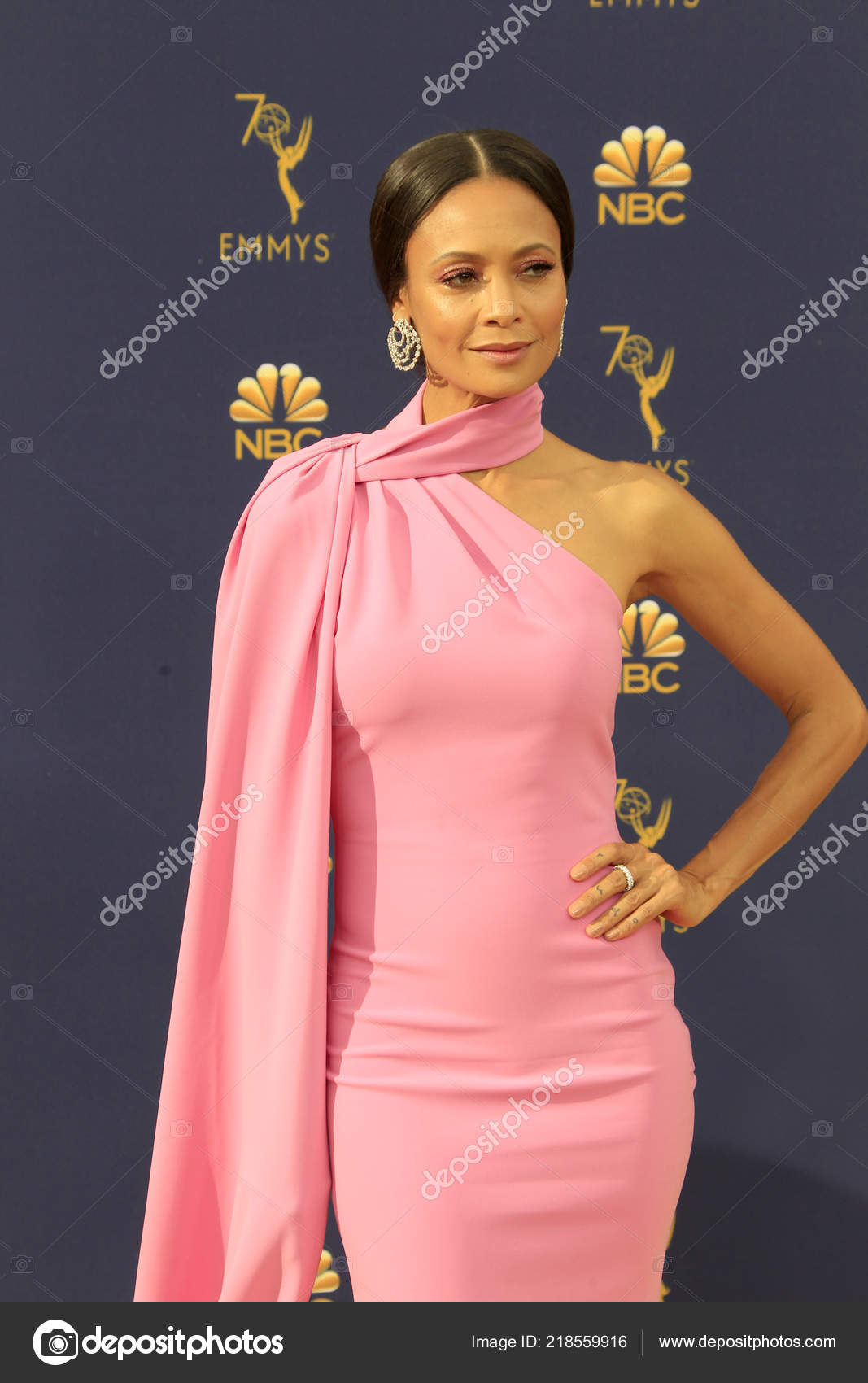 los angeles sep thandie newton 2018 emmy awards arrivals microsoft