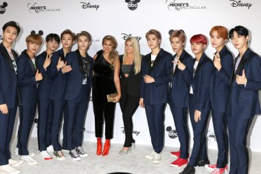 LOS ANGELES - OCT 6:  NCT 127, Tori Kelly, Meghan Trainor at the Mickey's 90th Spectacular Taping at the Shrine Auditorium on October 6, 2018 in Los Angeles, CA
