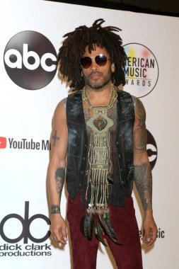 LOS ANGELES - OCT 9:  Lenny Kravitz at the 2018 American Music Awards at the Microsoft Theater on October 9, 2018 in Los Angeles, CA