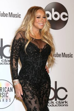 LOS ANGELES - OCT 9:  Mariah Carey at the 2018 American Music Awards at the Microsoft Theater on October 9, 2018 in Los Angeles, CA