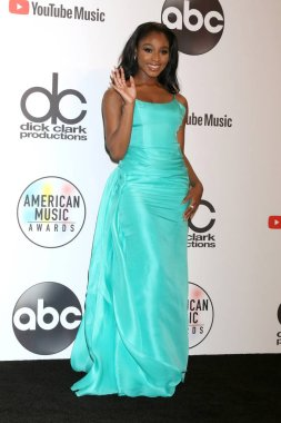 LOS ANGELES - OCT 9:  Normani Kordei at the 2018 American Music Awards at the Microsoft Theater on October 9, 2018 in Los Angeles, CA