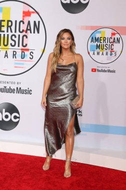 LOS ANGELES - OCT 9:  Becca Tilley at the 2018 American Music Awards at the Microsoft Theater on October 9, 2018 in Los Angeles, CA