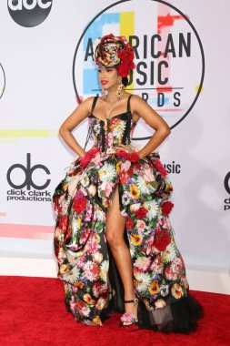 LOS ANGELES - OCT 9:  Cardi B at the 2018 American Music Awards at the Microsoft Theater on October 9, 2018 in Los Angeles, CA