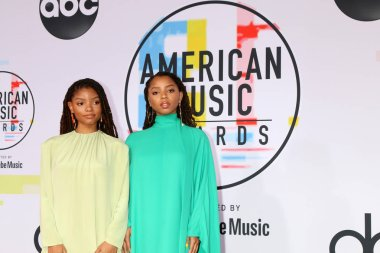 LOS ANGELES - OCT 9:  Chloe X Halle at the 2018 American Music Awards at the Microsoft Theater on October 9, 2018 in Los Angeles, CA