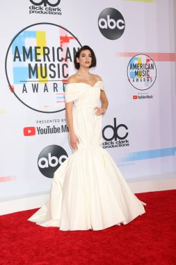LOS ANGELES - OCT 9:  Dua Lipa at the 2018 American Music Awards at the Microsoft Theater on October 9, 2018 in Los Angeles, CA