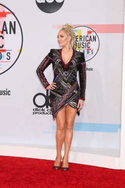 LOS ANGELES - OCT 9:  Erika Jayne at the 2018 American Music Awards at the Microsoft Theater on October 9, 2018 in Los Angeles, CA