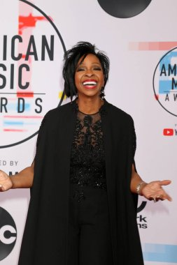 LOS ANGELES - OCT 9:  Gladys Knight at the 2018 American Music Awards at the Microsoft Theater on October 9, 2018 in Los Angeles, CA