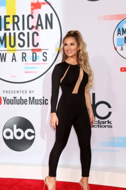 LOS ANGELES - OCT 9:  Jessie James Decker at the 2018 American Music Awards at the Microsoft Theater on October 9, 2018 in Los Angeles, CA