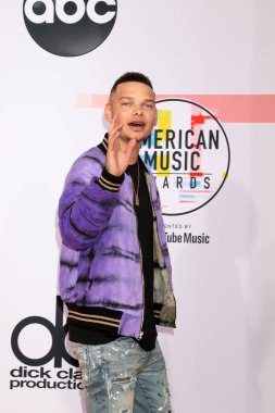 LOS ANGELES - OCT 9:  Kane Brown at the 2018 American Music Awards at the Microsoft Theater on October 9, 2018 in Los Angeles, CA
