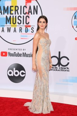 LOS ANGELES - OCT 9:  Laura Marano at the 2018 American Music Awards at the Microsoft Theater on October 9, 2018 in Los Angeles, CA