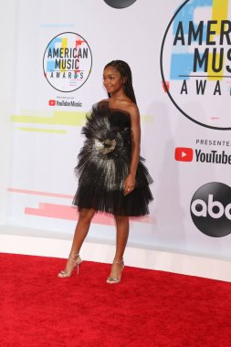 LOS ANGELES - OCT 9:  Marsai Martin at the 2018 American Music Awards at the Microsoft Theater on October 9, 2018 in Los Angeles, CA