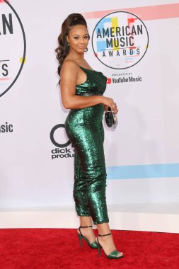 LOS ANGELES - OCT 9:  Nia Sioux at the 2018 American Music Awards at the Microsoft Theater on October 9, 2018 in Los Angeles, CA
