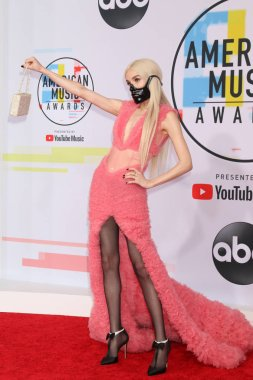 LOS ANGELES - OCT 9:  Poppy at the 2018 American Music Awards at the Microsoft Theater on October 9, 2018 in Los Angeles, CA