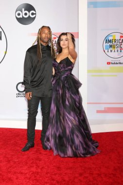 LOS ANGELES - OCT 9:  Ty Dolla Sign. Lauren Jauregui at the 2018 American Music Awards at the Microsoft Theater on October 9, 2018 in Los Angeles, CA