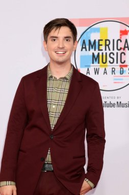 LOS ANGELES - OCT 9:  Zach Sang at the 2018 American Music Awards at the Microsoft Theater on October 9, 2018 in Los Angeles, CA
