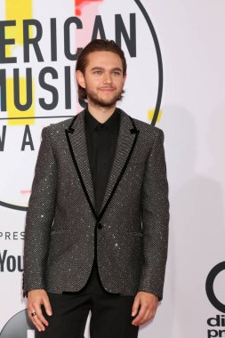 LOS ANGELES - OCT 9:  Zedd at the 2018 American Music Awards at the Microsoft Theater on October 9, 2018 in Los Angeles, CA