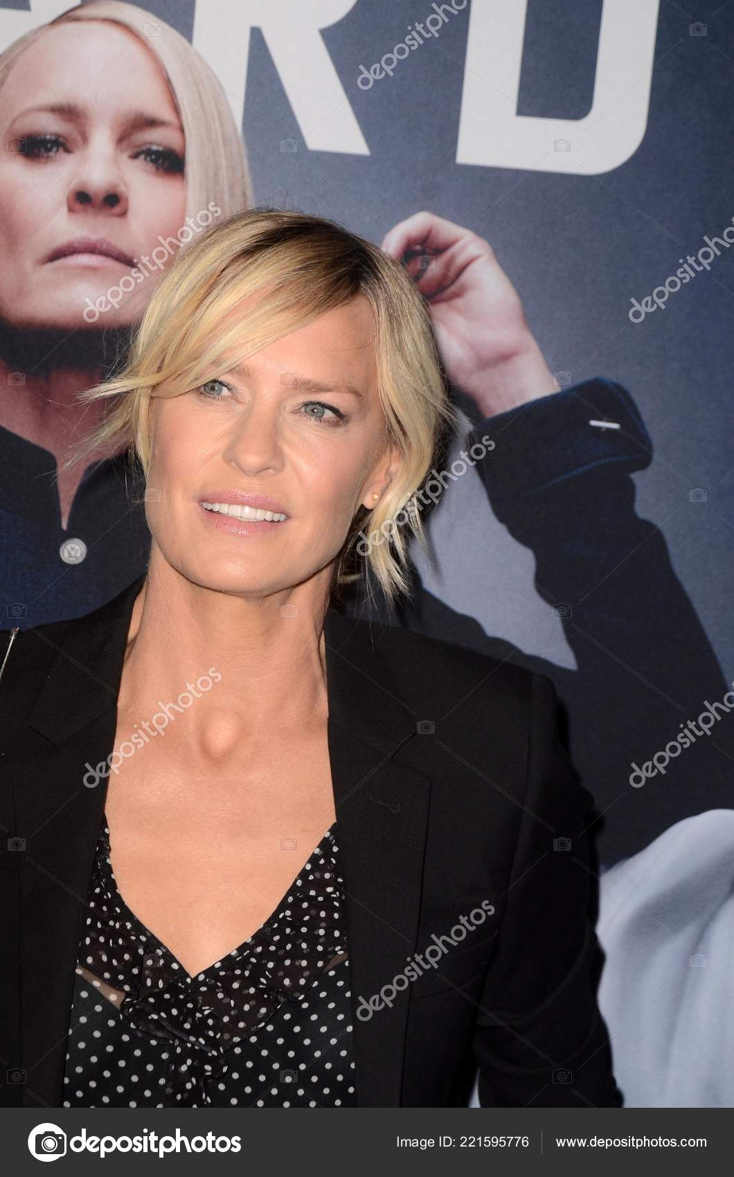 Los Angeles Okt Robin Wright Bei Der House Cards Staffel