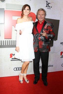 LOS ANGELES - OCT 24:  Blanca Blanco, John Savage at the