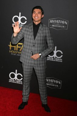 LOS ANGELES - NOV 4:  Henry Golding at the Hollywood Film Awards 2018 at the Beverly Hilton Hotel on November 4, 2018 in Beverly Hills, CA