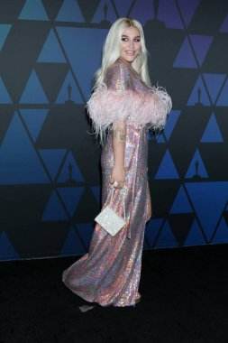 LOS ANGELES - NOV 18:  Kesha at the 10th Annual Governors Awards at the Ray Dolby Ballroom on November 18, 2018 in Los Angeles, CA