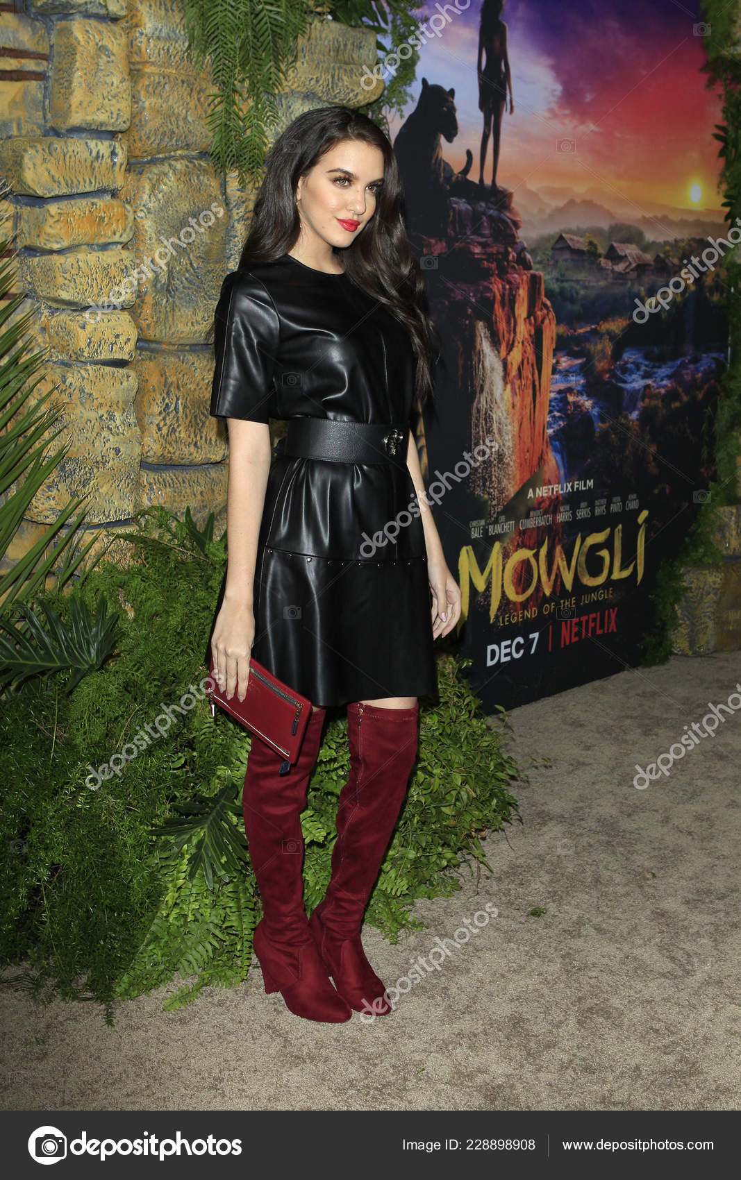 Los Angeles Nov Lilimar Hernandez Mowgli Legend Jungle Premiere