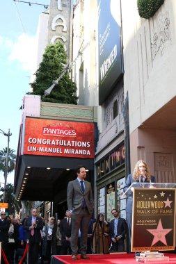 LOS ANGELES - NOV 30:  Lin-Manuel Miranda, Weird Al Yankovic at the Lin-Manuel Miranda Star Ceremony on the Hollywood Walk of Fame on November 30, 2018 in Los Angeles, CA