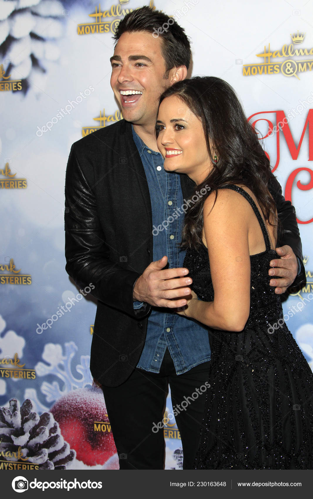 Once Upon A Christmas Miracle.Los Angeles Dec Jonathan Bennett Danica Mckellar Once