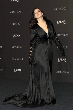 LOS ANGELES - NOV 3:  Lana Del Rey at the 2018 LACMA: Art and Film Gala at the Los Angeles County Musem of Art on November 3, 2018 in Los Angeles, CA