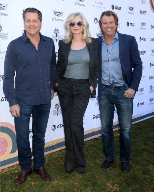 PALM SPRINGS - JAN 4:  James Van Patten, Eileen Davidson, Vince Van Patten at the Variety's Creative Impact Awards and 10 Directors to Watch Brunch at the Parker Palm Springs on January 4, 2019 in Palm Springs, CA