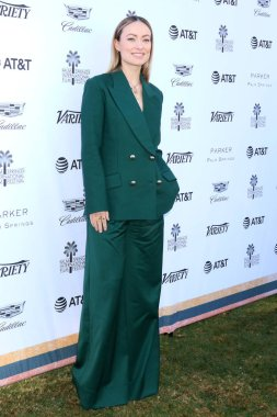 PALM SPRINGS - JAN 4:  Olivia WIlde at the Variety's Creative Impact Awards and 10 Directors to Watch Brunch at the Parker Palm Springs on January 4, 2019 in Palm Springs, CA