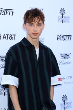 PALM SPRINGS - JAN 4:  Troye Sivan at the Variety's Creative Impact Awards and 10 Directors to Watch Brunch at the Parker Palm Springs on January 4, 2019 in Palm Springs, CA