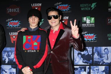 LOS ANGELES - JAN 30:  Zen Feldman, Corey Feldman at the Excelsior! A Celebration of Stan Lee at the TCL Chinese Theater IMAX on January 30, 2019 in Los Angeles, CA