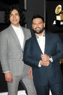 LOS ANGELES - FEB 10:  Dan + Shay at the 61st Grammy Awards at the Staples Center on February 10, 2019 in Los Angeles, CA