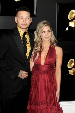 LOS ANGELES - FEB 10:  Kane Brown, Katelyn Brown at the 61st Grammy Awards at the Staples Center on February 10, 2019 in Los Angeles, CA