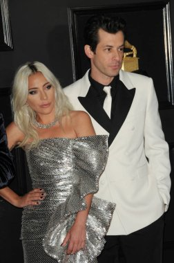 LOS ANGELES - FEB 10:  Lady Gaga, Mark Ronson at the 61st Grammy Awards at the Staples Center on February 10, 2019 in Los Angeles, CA