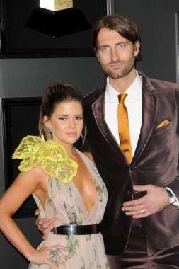 LOS ANGELES - FEB 10:  Maren Morris, Ryan Hurd at the 61st Grammy Awards at the Staples Center on February 10, 2019 in Los Angeles, CA