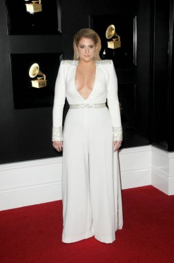 LOS ANGELES - FEB 10:  Meghan Trainor at the 61st Grammy Awards at the Staples Center on February 10, 2019 in Los Angeles, CA
