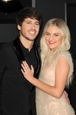 LOS ANGELES - FEB 10:  Morgan Evans, Kelsea Ballerini at the 61st Grammy Awards at the Staples Center on February 10, 2019 in Los Angeles, CA