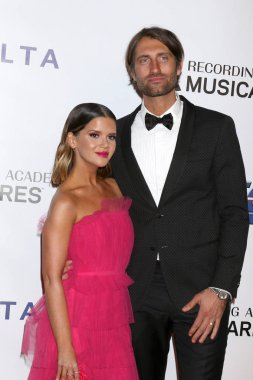 LOS ANGELES - FEB 8:  Maren Morris, Ryan Hurd at the MusiCares Person of the Year Gala at the LA Convention Center on February 8, 2019 in Los Angeles, CA