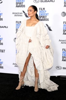 LOS ANGELES - FEB 23:  Tessa Thompson at the 2019 Film Independent Spirit Awards on the Beach on February 23, 2019 in Santa Monica, CA