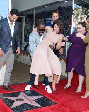 Mandy Moore Star Ceremony