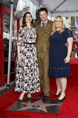 Anne Hathaway Star Ceremony
