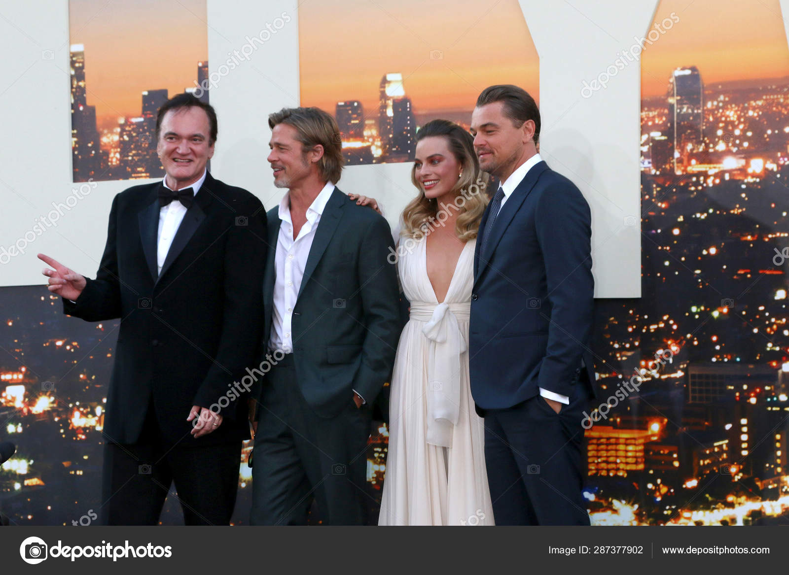 Once Upon A Time At Christmas 2019.Once Upon A Time In Hollywood Premiere Stock Editorial